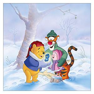 Winnie the Pooh. Размер: 60 х 60 см